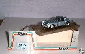 Ferrari 250 TDF Stradale Silver Blue Box Model 1/43 Diecast