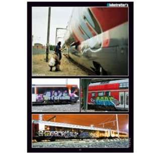 FRENCH KISS GRAFFITI ART MAGAZINE ISSUE 2   TRAINS ONLY