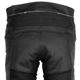 Revit Gear Leather Motorcycle Jeans   Black 34 Short