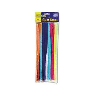 CHENILLE KRAFT Giant Stems, 12 x 12mm, Assorted Colors