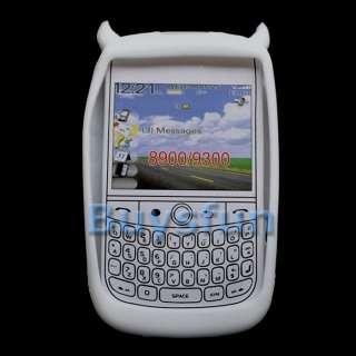 White Devil Silicone Cover Case BLACKBERRY CURVE 8900