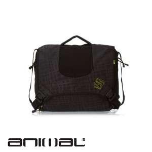 Mens Animal Talin Messenger Bag   Black