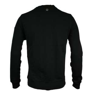 Duck and Cover 130045 Matool Mens Sweat Top Jumper Black