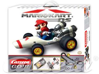 CARRERA GO nintendo mario kart 1.43 Slot car racing set +free Peaches