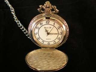 Nuevo Reloj de Bolsilo con Cadena de Christian Gar.Color Plata
