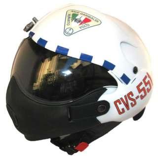casco pilota mod TORNADO AVIAZIONE NAVALE Portaerei G.GARIBALDI