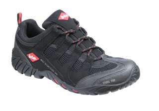 LEE COOPER   LC08   STEEL TOE CAP & MIDSOLE SAFETY WORK TRAINERS SHOES