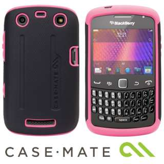 CASE MATE PINK / BLACK TOUGH HARD CASE COVER FOR BLACKBERRY 9350 9360