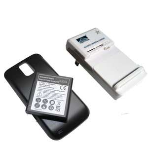 battery Samsung Galaxy S II 2 Hercules T989 T Mobile + Cover + Charger