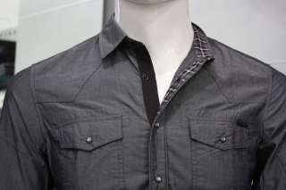 camicia uomo slim sfiancata elasticizzata ANTONY MORATO