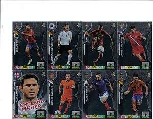 PANINI ADRENALYN XL EURO 12 2012 MASTER CARDS PICK THE ONES YOU NEED
