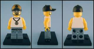 Figurine LEGO HIP HOP RAPPER EMINEM Figure Dunny Kaws