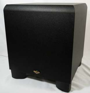 NICE Klipsch KSW 10 Inch 225 Watt Powered Subwoofer Speaker Woofer