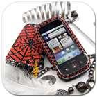 Bling Crystal Hard Cover Skin Case Motorola Dext