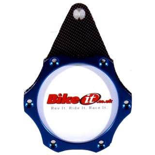 BIKE IT NINJA STAR MOTORCYCLE TAX DISC HOLDER BLUE