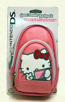 NEW Nintendo DS HELLO KITTY Game Traveler Backpack Pink
