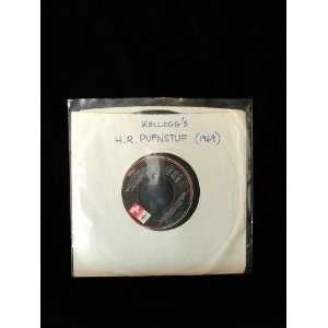 H.R. Pufnstuf 45 RPM Kelloggs Premium 7 Inch Record