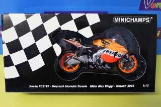 MODELLINO HONDA RC211V MAX BIAGGI MOTOGP 2005 REPSOL HONDA TEAM 112 N