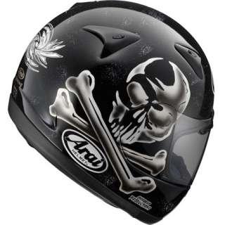Casco Helmet Casque Helm Arai Chaser Jolly Roger Tg M