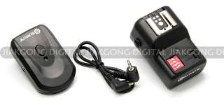 DSLRKIT PT 16 16 Channels Wireless/Radio Flash Trigger SET with 3