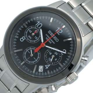 SEIKO MENS CHRONOGRAPH STEEL WATCH SSB011 NEW MODEL