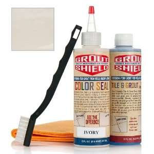 Grout Shield Color Seal Grout Restoration Kit Home