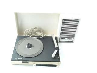 Tourne disque platine vinyl Philips valise portable