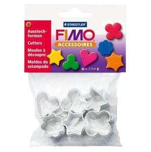 Stampini per FIMO 6 formine Staedtler