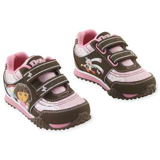 Dora the Explorer   Toddler Girls Velcro Sneakers Accessories