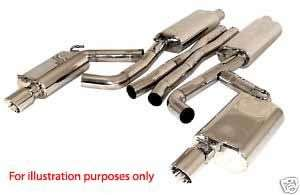 Mercedes C Class Exhaust 1.8 2.0 3.2 Kompressor C32 AMG
