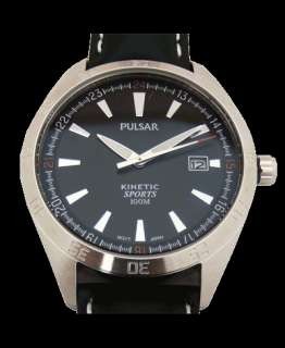 PAR141 New Pulsar Mens Gents Kinetic Date Display Watch
