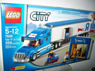 LEGO CITY TOYS R US TRUCK LIMITED EDITION #7848 356 PCS