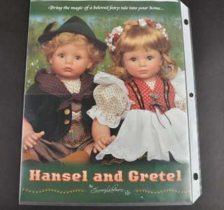 Mint HANSEL and GRETEL by Susan Wakeen Porcelain Dolls MIB