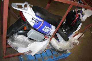 QQ SPORTMAN 1500WATT QIANGJIN WHITE & BLUE ELECTRIC SCOOTER MOPED NEW