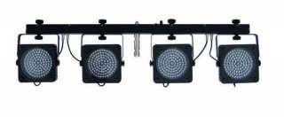 FARI LUCE PAR LED + STATIVO + CENTRALINA + CONTROLLER