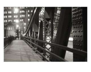 Chicago Bridge Over River Photographic Print by Patrick Warneka at
