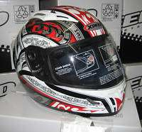CASCO MOTO in FIBRA X PEED EUPHORIA RED NEW 2010 S