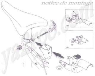 boule attelage sécurité pour remorque velo cyclo neuf