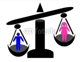 inégalités homme femme © ghispoppins #20404932   See portfolio