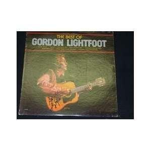 Lightfoot, Gordon Best Of Gordon Lightfoot Autographed