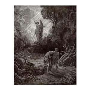Gustave Dore   Adam & Eve   The Expulsion From The Garden