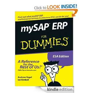 ERP For Dummies: Andreas Vogel, Ian Kimbell:  Kindle Store