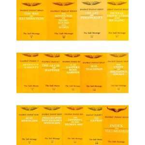 Message (14 volume set) (9788120804944) Hazrat Inayat Khan Books