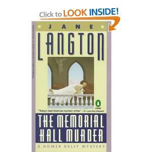 Hall Murder A Homer Kelly Mystery (9780140057041) Jane Langton