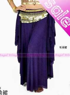 New belly dance Costume Skirt Dress 9 colours