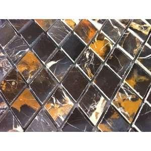 Michael Angelo Diamond 1 in. Pattern Polished Mosaic