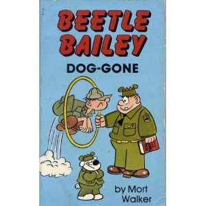 Beetle Bailey Dog Gone Mort Walker Books
