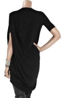 Alexander McQueen Skull intarsia wool blend sweater dress   60% Off