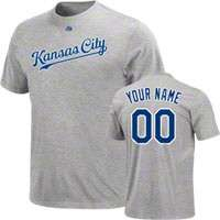 Kansas City Royals Custom/Personalized T Shirts, Kansas City Royals