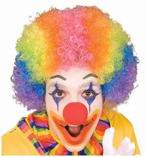 Rainbow Clown Wig   Halloween Clown Wigs